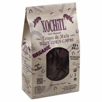 Xochitl Mexican Style Blue Corn Chips, 12 Oz (Pack of 10)