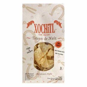 Xochitl No Salt Corn Chips, 12 OZ (Pack of 10)