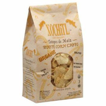 10 Packs : Xochitl Tortilla Chips, White Corn, 12 Ounce