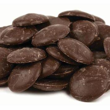 Merckens Dark Chocolate Coating Wafers Bulk Pack 50 lbs.