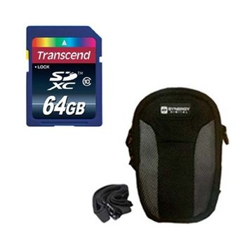 Synergy Digital Olympus Tough TG-3 Digital Camera Accessory Kit includes: KSD64GB Memory Card, SDC-23 Case