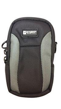 Synergy Digital Vivitar ViviCam F324 Digital Camera Case SDC-23 Point & Shoot Digital Camera Case, Black / Grey
