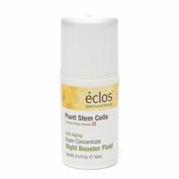 Delicious Brands Eclos Super Concentrate Night Booster Fluid, .5 oz