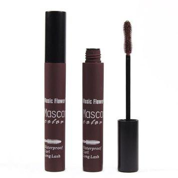 DATEWORK Colorful Waterproof Makeup Eyelash Long Curling Mascara Eye Lashes Extension