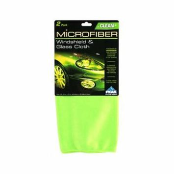 Old World Automotive Product PKC0FG Windshield & Glass Cleaning Cloth, Microfiber, 2-Pack