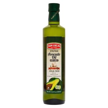 Garlic infused Avocado oil Kosher (16.9 Fl Oz)
