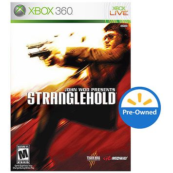 Midway Stranglehold (Xbox 360) - Pre-Owned