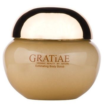 Gratiae Organics Exfoliating Body Scrub, Passion Fruit and Lime, 425-Grams