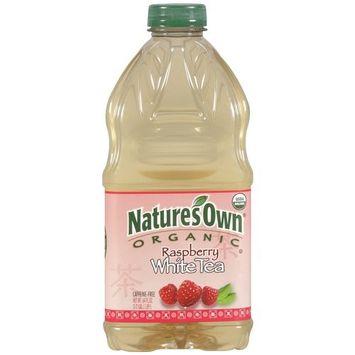 Nature's Own Organic Raspberry White Tea, 64 fl oz