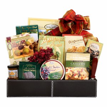 Alder Creek Gifts Picnic in the Wine Country Gift Basket, 1 ea