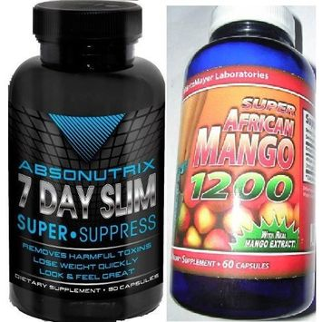 Super African Mango + Absonutrix Super Suppress - Ultimate Weightloss Solution!