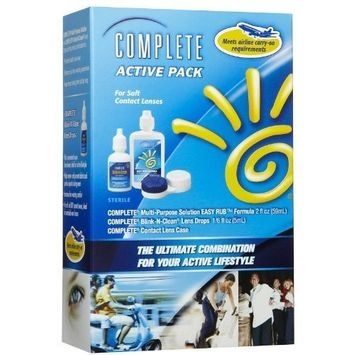 Complete Active Pack for Soft Contact Lenses