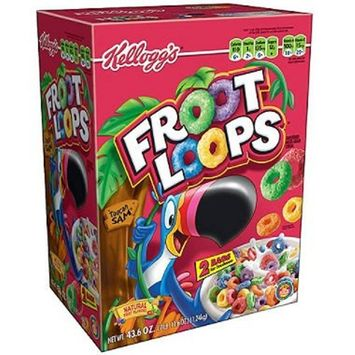 Kellogg's Froot Loops Cereal (43.6 oz.) (pack of 6)