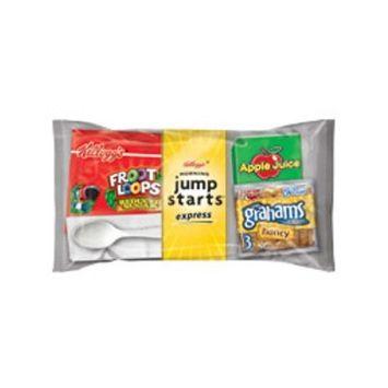 Froot Loops Kellogg's Jump-Starts Express, Reduced Sugar, 5.97 Ounce (Pack of 44)