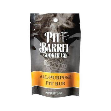 Pit Barrel Cooker 8981144 5 oz All Purpose BBQ Rub Assorted