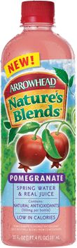 Arrowhead Nature's Blends Spring Water & Real Juice Pomegranate