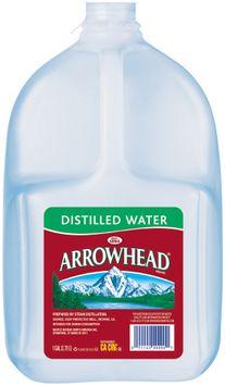 Arrowhead Distilled Water 1 gal. Plastic Jug