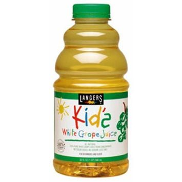 Langers Baby Juice-White Grape, 32-Ounce (Pack of 6)