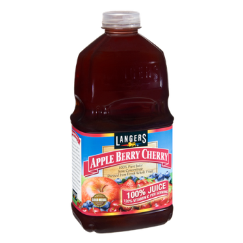 Langers Apple Berry Cherry 100% Pure Juice from Concentrate