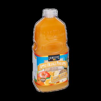 Langers Apple Orange Pineapple 100% Pure Juice