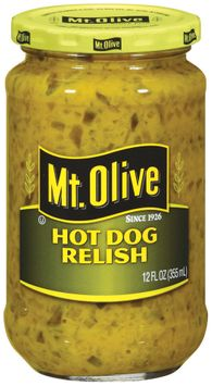 mt Olive Hot Dog Relish