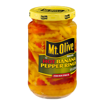 Mt. Olive Banana Pepper Rings Hot