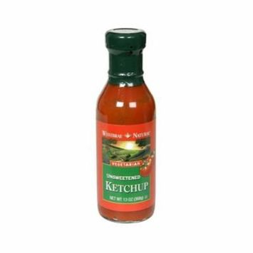 Westbrae Natural Vegetarian Unsweetened Ketchup 13-Ounce Bottles (Pack of 3) - Pack Of 3