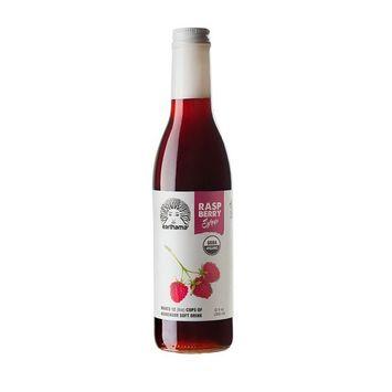 Raspberry Syrup, Organic, Small batch, 12 oz by Earthama