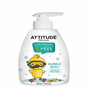 ATTITUDE, Little Ones, Bubble Bath, Pear Nectar, 10 fl oz(pack of 6)