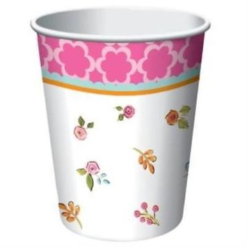 Tea Time 9oz Hot/Cold Cups , 4PK