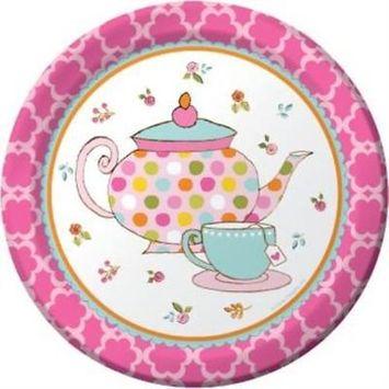 Tea Time 7-inch Plates , 4PK