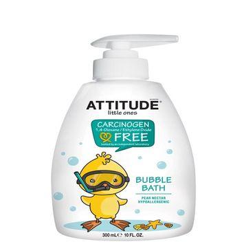 ATTITUDE, Little Ones, Bubble Bath, Pear Nectar, 10 fl oz (300 ml) [Scent : Pear Nectar]