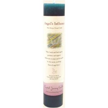 Crystal Journey Candle Pillar Angels Influence, 1 Each [Angel's Influence]