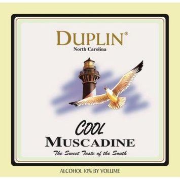 NV Duplin Wine Cellars Cool North Carolina Muscadine 750 mL White Wine
