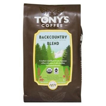 Tony's Coffee Backcountry Blend Whole Bean Coffee - 12oz