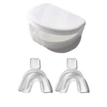White Teeth Global Mouth Trays with a Tray Case for Teeth Whitening or Night Guards