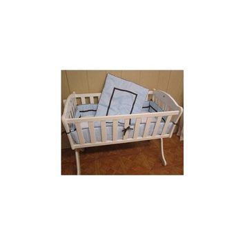 Babykidsbargains Friendship Cradle Bedding, Blue, 18