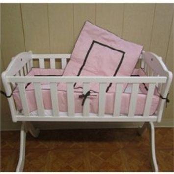 Babykidsbargains Friendship Cradle Bedding, Pink, 15