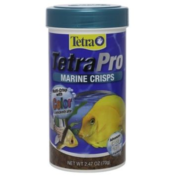 Tetra 77082 Tetrapro Marine Crisps For Fishes 250Ml (Pack of 1)