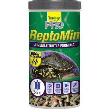 Tetra Tetrafauna Pro Reptomin Juvenile Turtle Food Formula, 12 oz