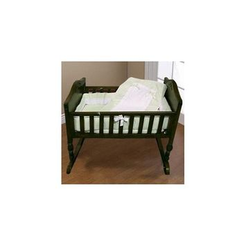 Babykidsbargains Lucillia Cradle Bedding, Sage, 18