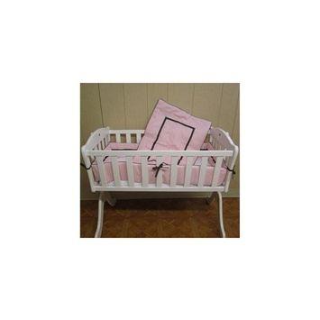 Babykidsbargains Friendship Cradle Bedding, Pink, 18