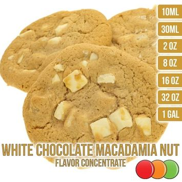 One On One Flavors OOOFlavors White Chocolate Macadamia Nut Flavored Liquid Concentrate Unsweetened