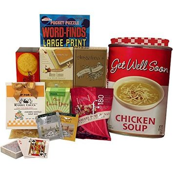Get Well Soon Chicken Soup Gift Bag Tote