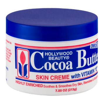 Hollywood Beauty Cocoa Butter Skin Creme with Vitamin