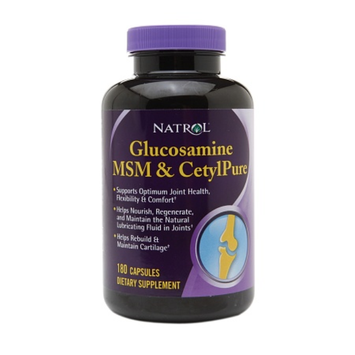 Natrol Glucosamine MSM & CetylPure, Capsules