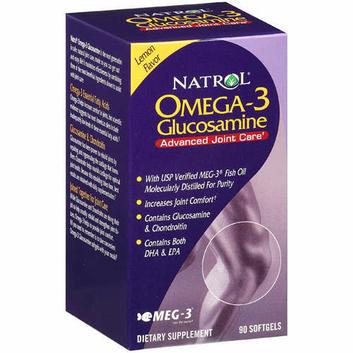 Natrol Glucosamine Omega 3 Supplement 1 CT