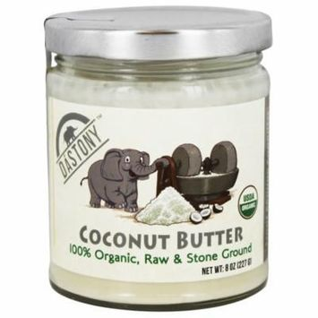 Dastony - 100% Organic Coconut Butter - 8 oz(pack of 6)