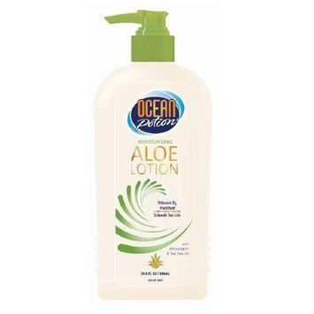 2 Pack Ocean Potion Skincare After Sun Moisturizing Aloe Lotion 20.5 fl oz Each