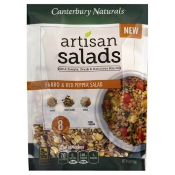 Canterbury Naturals Artisan Salads Farro & Red Pepper 9 oz